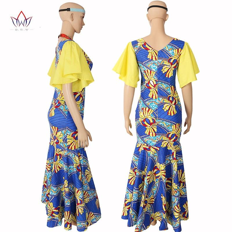 Haljine s afričkim printom bez rukava za žene Udobne tiskane - Ženska odjeća - Foto 3