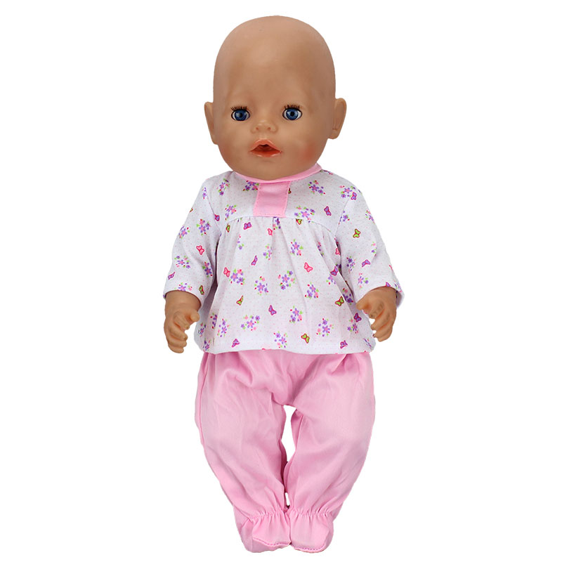 Doll-Jump-Suits-Fit-For-43cm-Baby-Born-Zapf-Doll-Reborn-Baby-Clothes-2