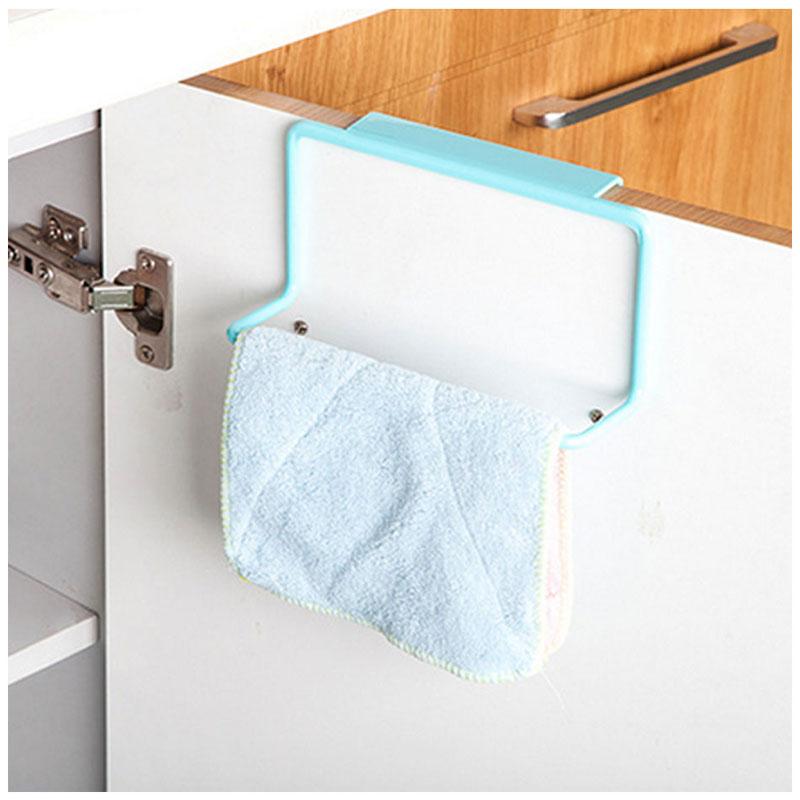 TTLIFE Cabinet Hanger Over Door Kitchen Hook Towel Rail Hanger Bar Holder Drawer Storage Bathroom Tools
