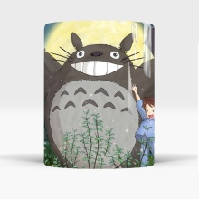 Color Changing Totoro Printed Ceramic Mug