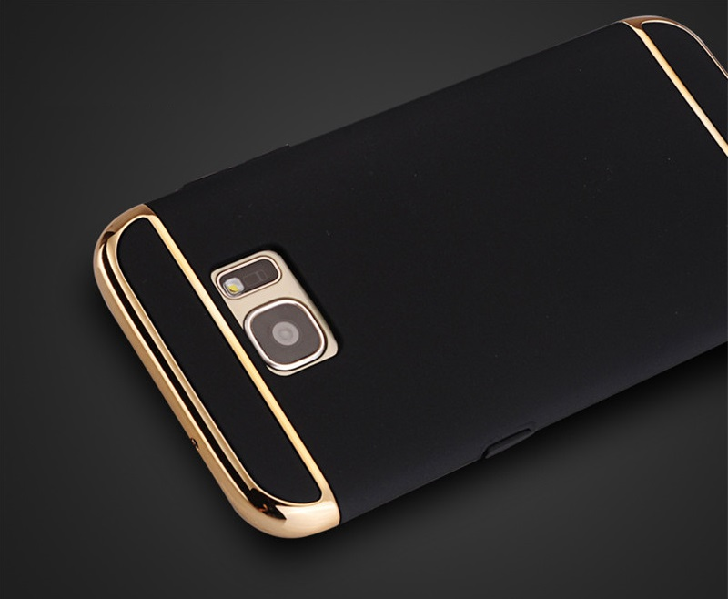 CONNICS Phone Case S7 S7 Edge for Women Men Electroplating Frame 3 in 1 Hard PC Back Cover For Samsung Galaxy S7  S7 Edge Cases (25)