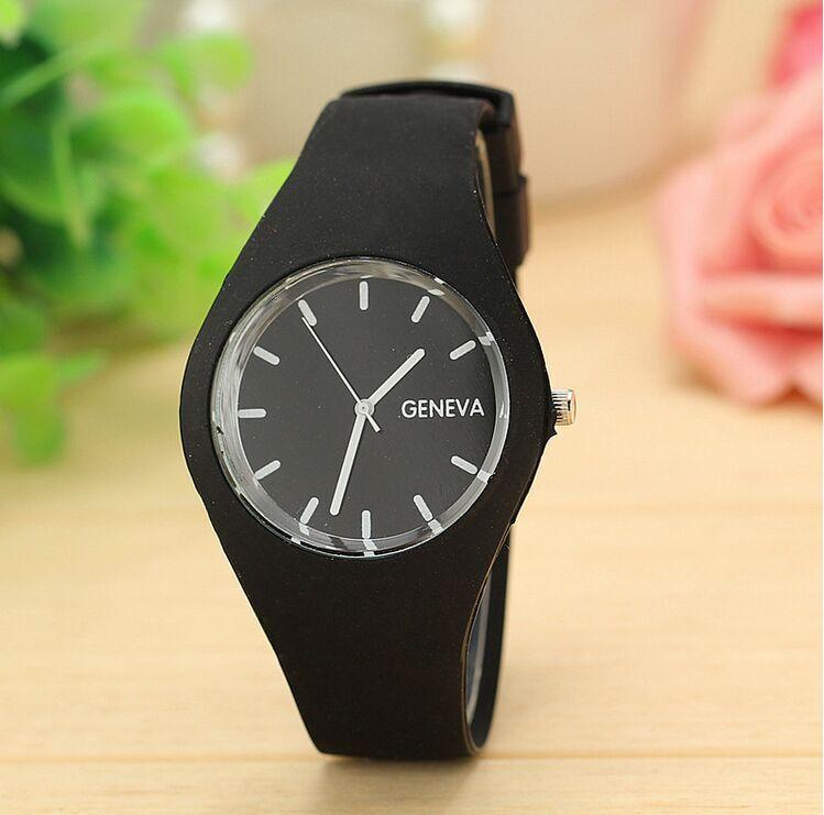 Silicone Rubber Jelly Gel Quartz Casual Quartz Watch Ladies Fashion WatchesFashion Sports Girl Wrist Relogio Feminino relogio