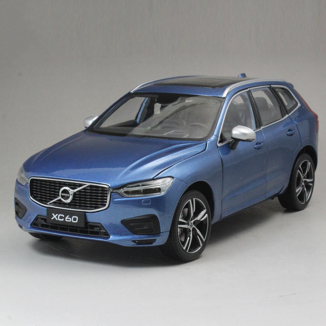 R 1:18Alloy Pull Back Toy Vehicles VOLVO XC60 Sports Car Model Of Children's Toy Cars Original Authorized Authentic Kids Toys