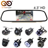 Univeral Car PArking Assitance System Kit 4 3 TFT LCD Mirror Screen Display Monitor Rear View