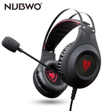 NUBWO Game Gaming Active Noise Cancelling font b Headphones b font wired Headset with Mic for