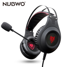 NUBWO Game Gaming Active Noise Cancelling Headphones wired Headset with Mic for Xbox One PS4