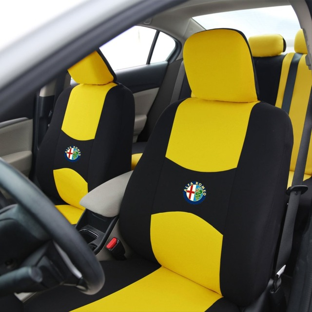 Front Seat Covers Universal Car Seat Cover For Alfa Romeo Car - Alfa romeo seat covers