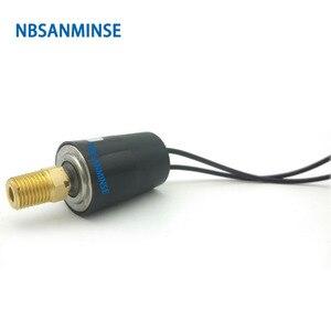 Image 5 - SMF08A 1/8 1/4 yüksek akım basınç anahtarı sabit Set noktası otomatik sıfırlama hava su basınç anahtarı yüksek kaliteli NBSANMINSE
