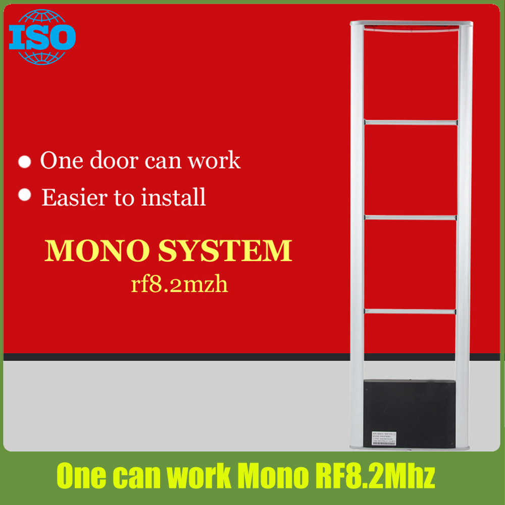 clothing store supermarket security system Mono eas system RF8.2Mhz jammer best selling eas system 8 2mhz mono security system eas anti shoplifting system mono system of eas free shipping by fedex