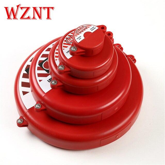 NT-G01 to NT-G05 five size Gate Valve lockout for valve rod diameter 25mm-450mm handwheel safety lock Pipe valve turbine lock