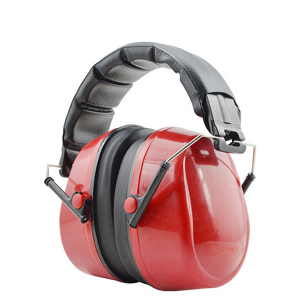 Air Travel Acoustic Earmuffs Red Comfort Folding Noise Cancelling Headphones Learning Sleep Shooting Industrial Noise Protection стоимость