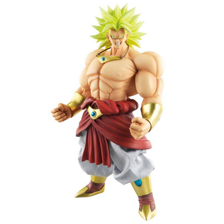 ФОТО MODEL FANS Dragon Ball Z shf super saiyan 3 broli head figure toy for Collection (only head not have body)