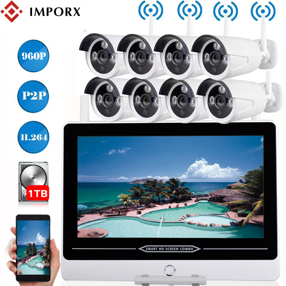 IMPORX 8CH 960P Wireless 13\