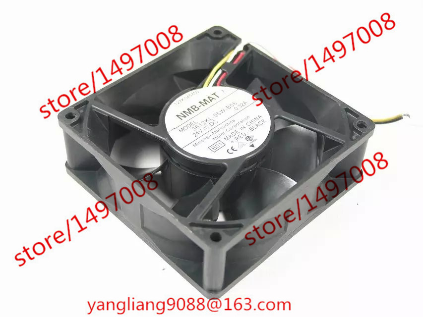 Free Shipping For NMB 3612KL-05W-B56, B01 DC 24V 0.32A 4-wire 90x90x32mm Server Square Cooling fan free shipping 24v dc mig welding wire feeder motor single drive 1pcs