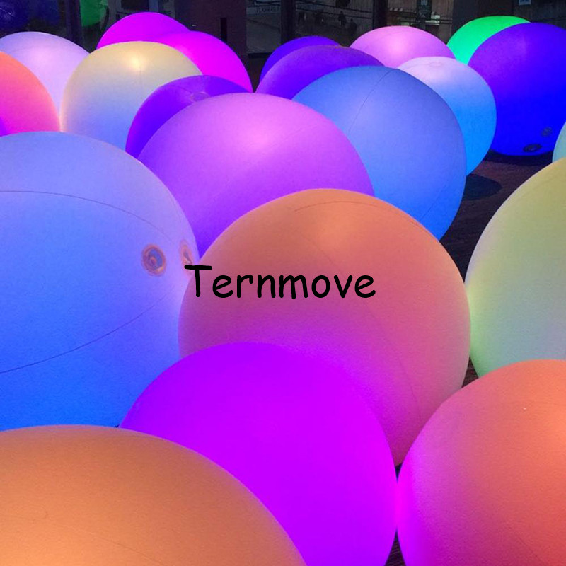 Inflatable LED Coloured Spheres Rechargeable battery led beach ball remote control color changing giant led balloonInflatable LED Coloured Spheres Rechargeable battery led beach ball remote control color changing giant led balloon