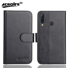 Tecno Camon i4 Case 6 Colors Dedicated Soft Flip Leather Special Crazy Horse Phone Cover Cases Credit Card Wallet