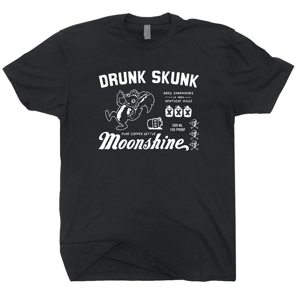 new arrival 14dc5 6131b Shirts   Tops Alcohol Moonshiners Four Fights To A Pint Adult Light Gray  T-shirt
