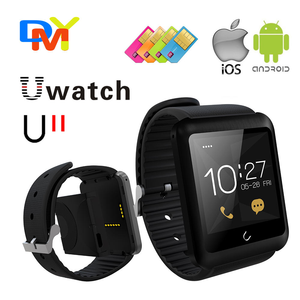 U11 Bluetooth Smart Watch WristWatch Gear Fit Pedometer Call Reminder for Android Smartphone Mobile Phone Samsung S5 S4 Note 3 2