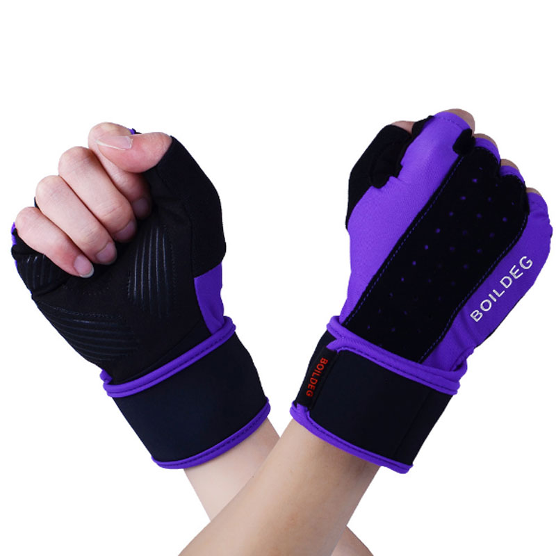 Women Work Out Gloves Weight Lifting Gym Sport Exercise: Men Women Half Finger Fitness Gloves Weight Lifting Gloves