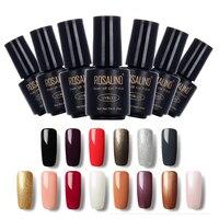 ROSALIND Black Bottle 7ML pure color 58 Colors 01-30 Gel Nail Polish Nail Art nail gel polish Macaron Soak-off Gel UV LED Gel