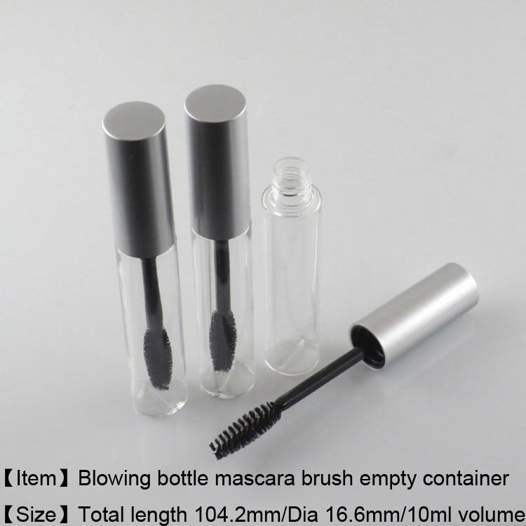 225 teile/los freies Verschiffen 10 ml mascara behälter flasche, leere kosmetische paket mascara rohr-in Nachfüllbare Flaschen aus Haar & Kosmetik bei AliExpress - 11.11_Doppel-11Tag der Singles 1