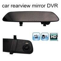 Promotion 2 4 Inch Car DVR Mirror HD Video Registrator Rear View Mirror Rearview Video Recorder
