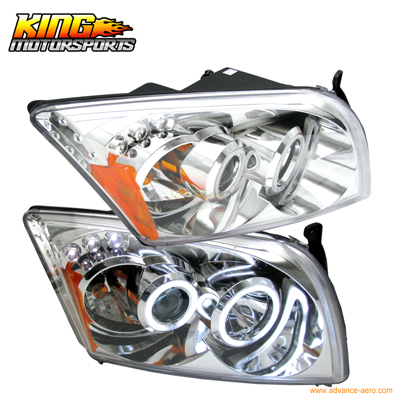 For 2007-2010 Caliber CCFL Halo LED Projector Headlights Chrome USA Domestic Free Shipping huile toys 3108 baby toys traveling picnic cooking suitcase toy included stove utensils plates toy meal bacon and eggs