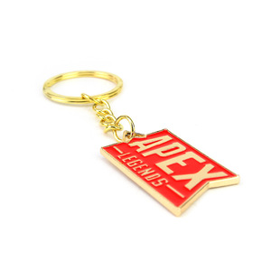 Image 5 - 10 pcs/lot Hot game Apex legends keychain keyring stainless steel key chain Pendants action figure toy gifts
