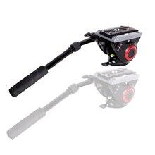 ASHANKS FH2 8KG Load Fluid Head for Monopod Track Slider Video DSLR Camcorder