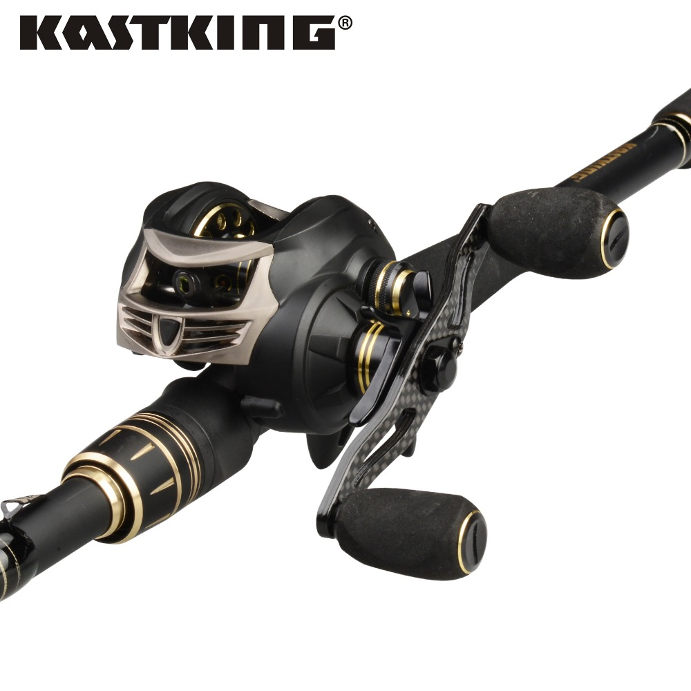 KastKing Stealth Fishing Reel Blackhawk II Carbon Telescopic Casting Fishing Rod Combo M MH Power 2.03m 2.16m 2.21m 2.28m 2.44m kastking blackhawk 2