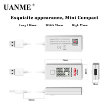UANME UNI-T UT658B Digital USB Testers Testable rechargeable treasure capacity (continuous memory)