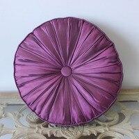Vezo المنزل بيربل الحرير اليدوية أريكة المنزل سائد كرسي مقعد الحديثة الزخرفية رمي الوسائد حالة القطر 40 سنتيمتر