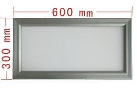 led panel light;350pcs 3528 led;size:600mm*300mm;21W