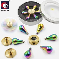 Colorful Fidget Toys Pattern Hand Spinner Metal Fidget Spinner And ADHD Adults Children Educational Toys Hobbies