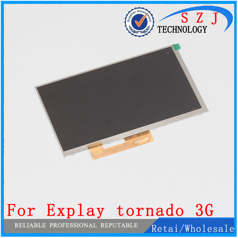 New 7'' inch LCD Display 164*97mm for Matrix Explay tornado 3G Tablet PC LCD Screen Panel inner Module Replacement Free Shipping new lcd display matrix for 7 nexttab a3300 3g tablet inner lcd display 1024x600 screen panel frame free shipping