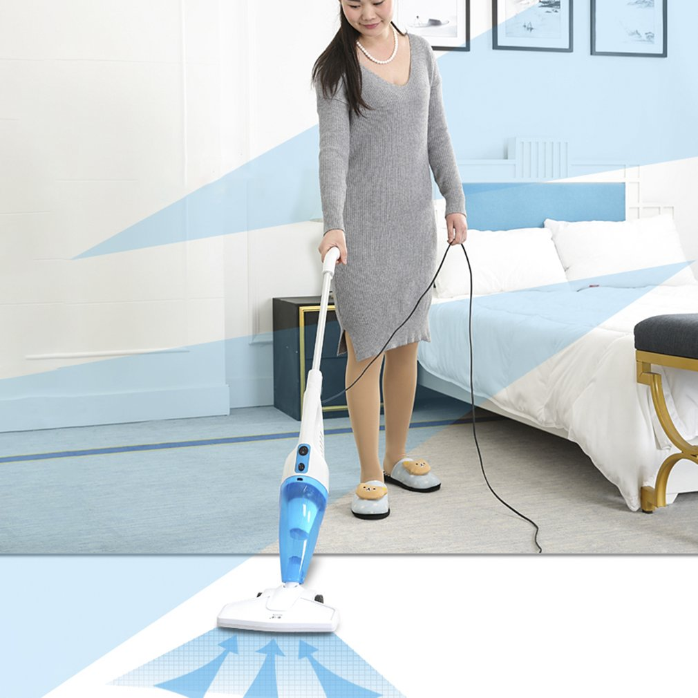 Ultra Quiet Push Rod Vacuum Cleaner Portable Dual-use Handheld Dust Collector Mites Killing Device High Power Home Aspirator цена и фото
