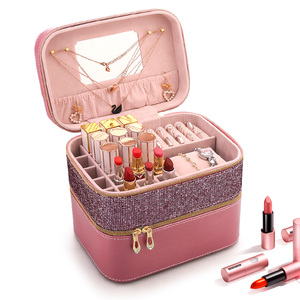 Women Cosmetic Case Portable Large Capac
