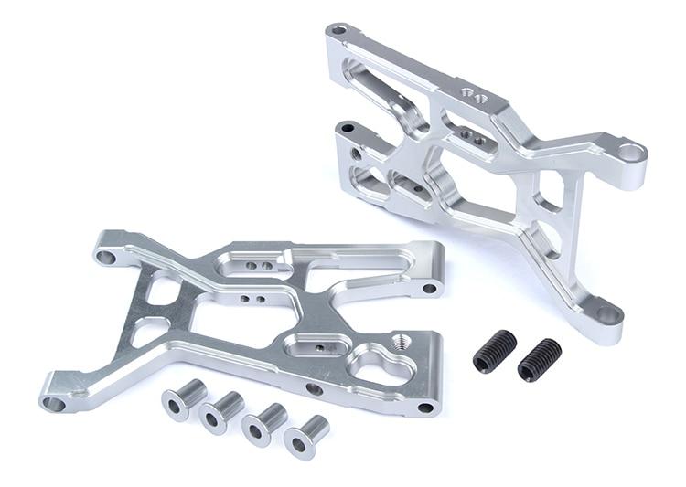 LT  5T  CNC metal front A-arm suspension baja 5t lt cnc metal front a arm rear suspension 87048 universal losi
