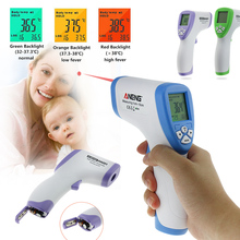 Promo offer Handheld Digital Infrared Baby Thermometer Non-contact IR Infrared Thermometer Forehead Body Surface Temperature Measurement Gun