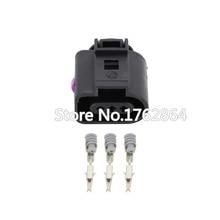 5 PCS  DJ7035B-1.5-21 3 Pin Female 1.5mm Auto Temp Sensor Plug Deflation Valve Waterproof Connector For VW