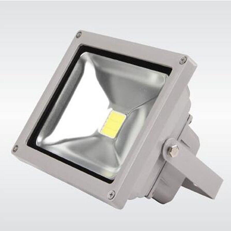 12 V-24 V DC 50 W LED lumière d'inondation lumière blanche projetant la lampe