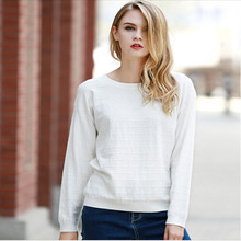 Autumn New Sweater Women Europe Style Long Sleeved Round Neck Pullovers Female Loose Casual Sweaters Stylish