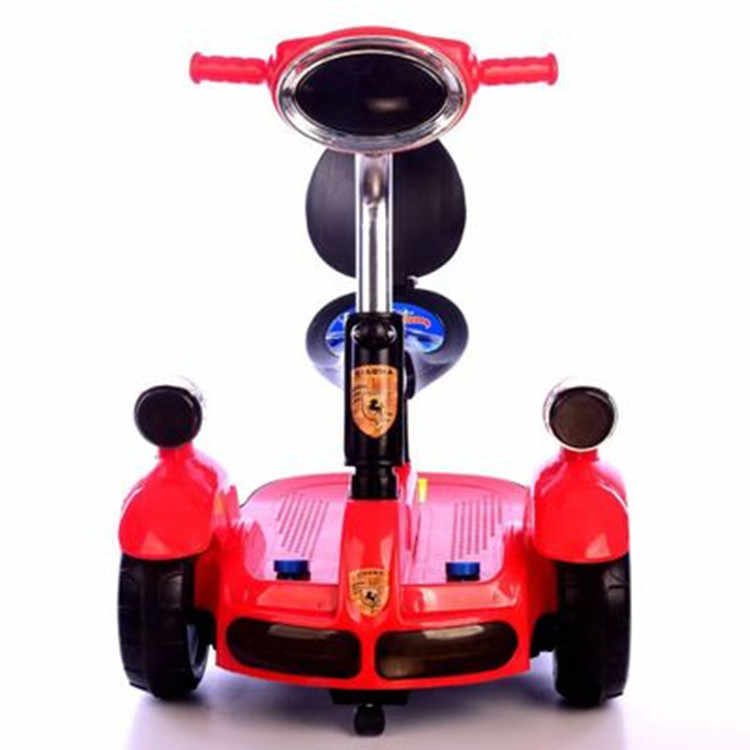Children's Electric Balance Car Can Take People with Music Lights Early Education Electric Four-wheeler Ride on Toy Car Rc Car