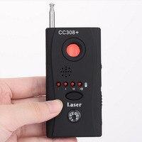 Yeni CC308 + Anti-Spy RF Sinyal Bug Dedektörü Mini Kablosuz Kamera Gizli Lens Radyo Dalga Sinyal GSM Cihazı bulucu Lazer Dedektörü