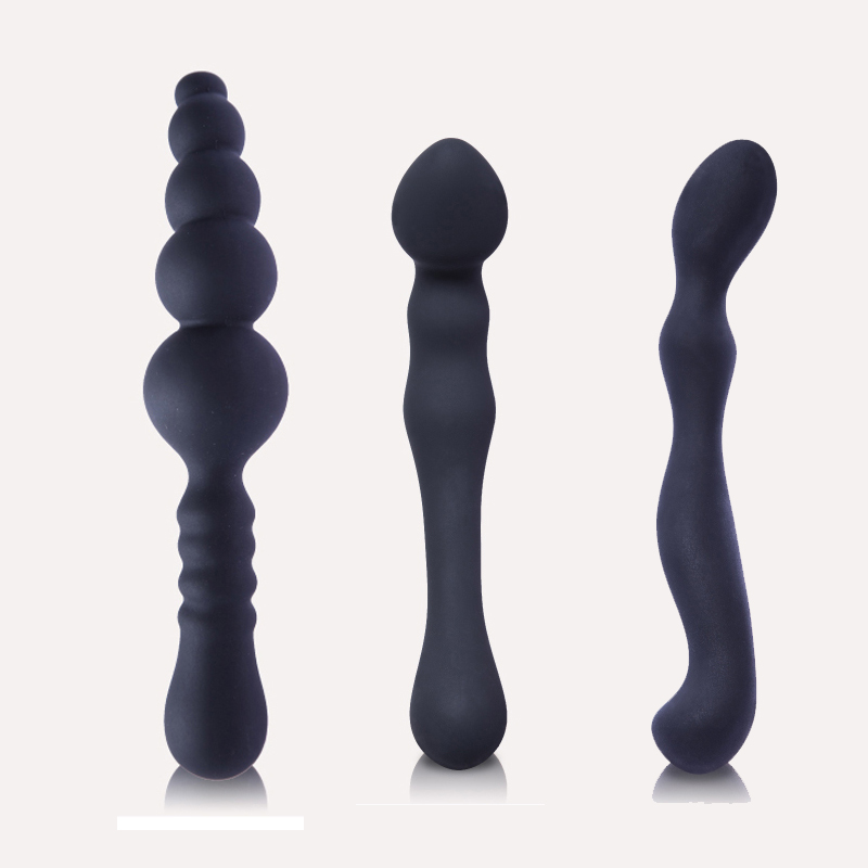 Anal sex toys anal plug Anal beads Sex toys for women and men Smooth Touch Silicone Butt Plug Sex products erotic toys 7 frequency super anal plug toys 160x30mm butt plug booty beads the sex toys for male and female sex products for men and women