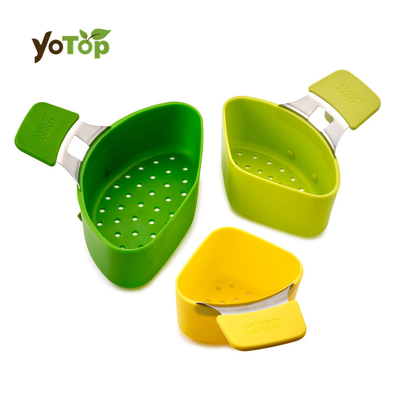 YOTOP One Set Cooking Baskets Silicone Stainless Steel Cooker Stewed Boiled Water Basket Cooking Basket Strainer Cooking Tools
