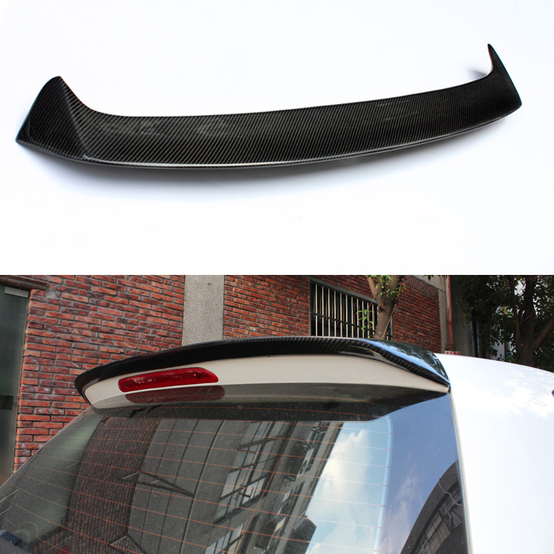 Golf 7 MK7 GTI Style Carbon Fiber Auto Car Rear Roof Spoiler Wing for Volkswagen VW Golf VII Golf7 Not GTI Not R Line