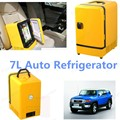 Sale Hotty mini Car Refrigerator Car Fridge Car Freezer Refrigerator large 7L 12V free Shipping