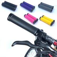 MTB Road Bike Cycling Bicycle Handle Grips High-quality Handlebar Lockable Rubber Grip Aluminum Alloy