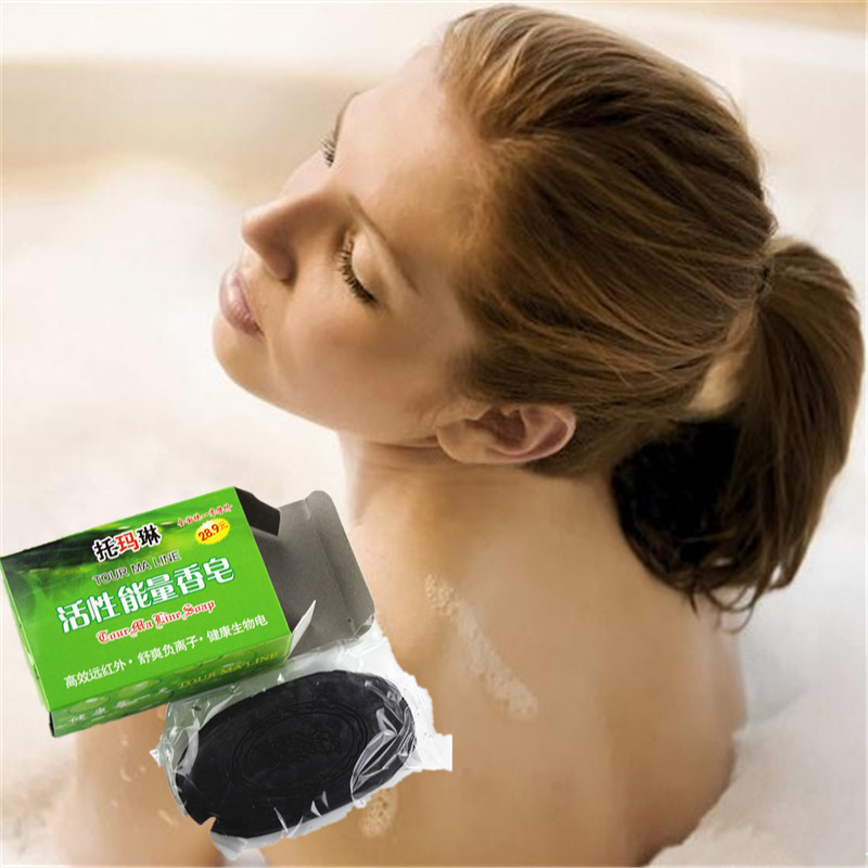 Best Face Skin Care Anit-Wrinkle Natural Bamboo Charcoal Essence Facial Soap 60g Whitening Acne Treatment Blackhead Remove
